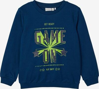 NAME IT Print Sweatshirt in blau, Produktansicht