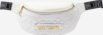 Love Moschino Belt bag in Gold / Black / White, Item view