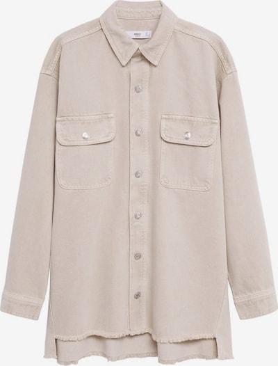 MANGO Bluse in beige, Produktansicht