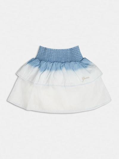 GUESS KIDS Guess Kids RÜSCHENROCK in blau / weiß, Produktansicht