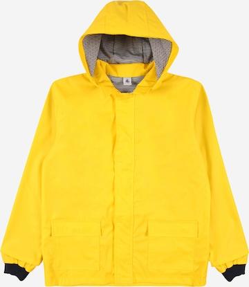 PETIT BATEAU Performance Jacket in Yellow