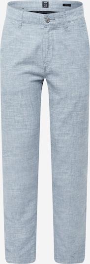 BOSS Casual Pantalon chino en bleu clair, Vue avec produit