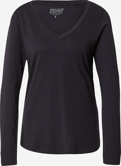 ESPRIT Shirt in de kleur Zwart, Productweergave