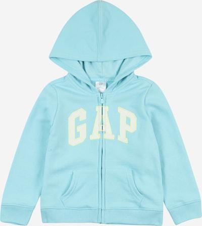 GAP Tepláková bunda - svetlomodrá / žltá / biela, Produkt
