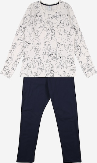 SANETTA Pajamas in night blue / white, Item view