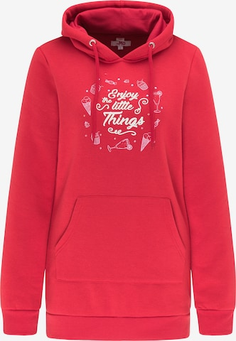 MYMO Sweatshirt in Red