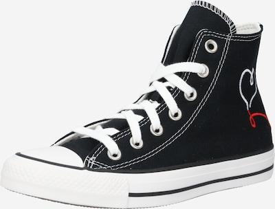 CONVERSE Zapatillas deportivas altas 'Chuck Taylor All Star' en rojo / negro / offwhite, Vista del producto