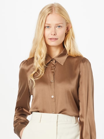 SAND COPENHAGEN - Blusa 'Latia' en marrón