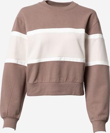 Abercrombie & Fitch Sweatshirt in Braun