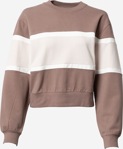 Abercrombie & Fitch Sweatshirt in nude / braun / weiß, Produktansicht