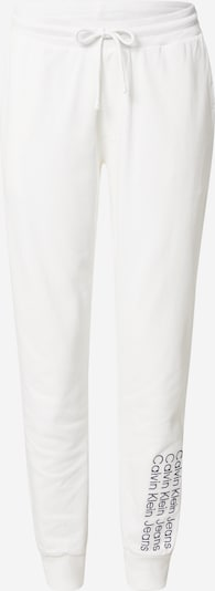Calvin Klein Jeans Панталон '90's HWK INSTITUTIONAL PANT' в бяло, Преглед на продукта