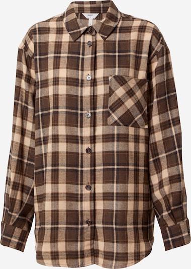 OBJECT Bluse in braun, Produktansicht