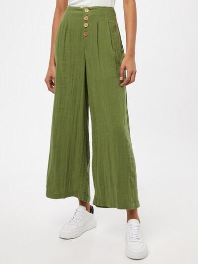 ROXY Kalhoty se sklady v pase 'DREAM STORY' - zelená, Model/ka