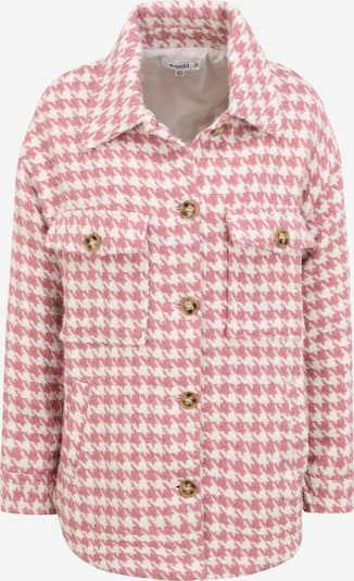 Missguided (Petite) Tussenjas in de kleur Oudroze / Wit, Productweergave