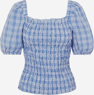 PIECES Bluse in blau / hellblau, Produktansicht