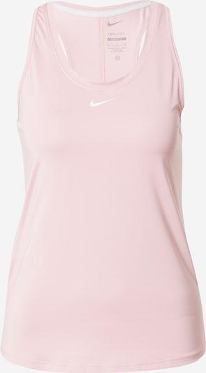NIKE Top deportivo en rosa / blanco, Vista del producto