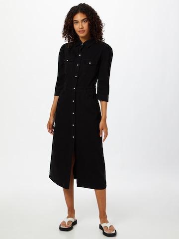 AllSaints Shirt Dress 'Polly' in Black
