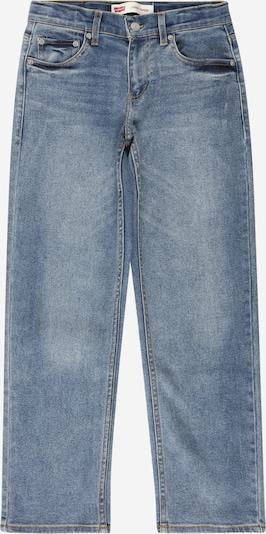 Jeans LEVI'S pe albastru denim, Vizualizare produs