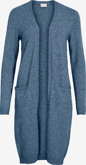 VILA Knitted Coat 'Ril' in mottled blue, Item view