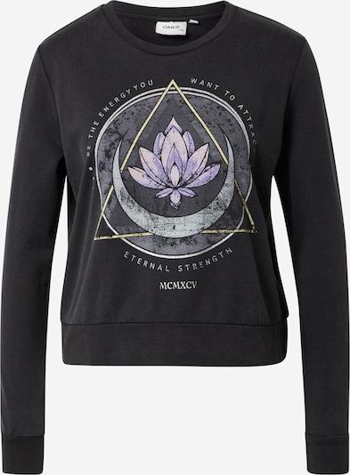 ONLY Sweater majica u miks boja / crna melange, Pregled proizvoda