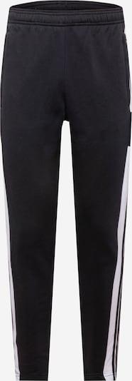 ADIDAS PERFORMANCE Sporthose en schwarz / weiß, Vue avec produit