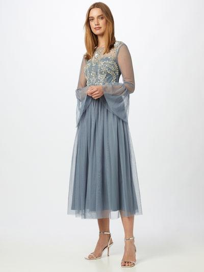 Frock and Frill Společenské šaty - tmavě šedá, Model/ka