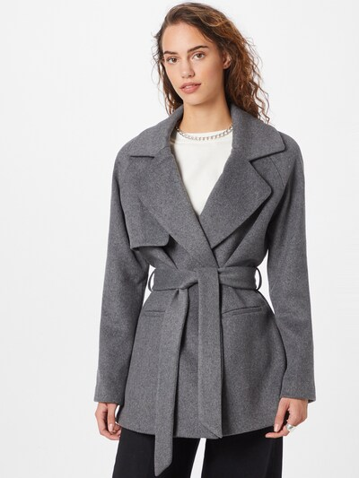 2NDDAY Mantel in grau, Modelansicht