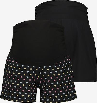 Ulla Popken Pyjamabroek in de kleur Zwart / Wit, Productweergave