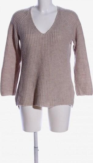 basic apparel V-Ausschnitt-Pullover in S in wollweiß, Produktansicht