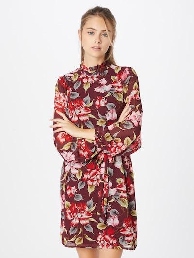 VILA Kleid 'Ura' in mischfarben / weinrot, Modelansicht