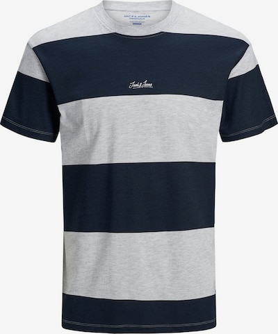 JACK & JONES Shirt in de kleur Marine / Grijs, Productweergave