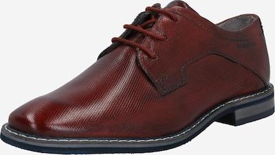 bugatti Buty sznurowane 'Rafo  ExKo' w kolorze karminowo-czerwonym, Podgląd produktu