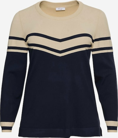 SHEEGO Jersey en beige / marino, Vista del producto