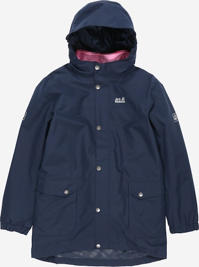 JACK WOLFSKIN Outdoor jacket 'ICY FALLS' in marine / pink, Item view