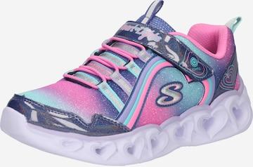 SKECHERS Sneaker in Blau