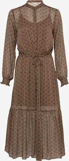 Rochie tip bluză 'Diaz' mbym pe maro / negru, Vizualizare produs