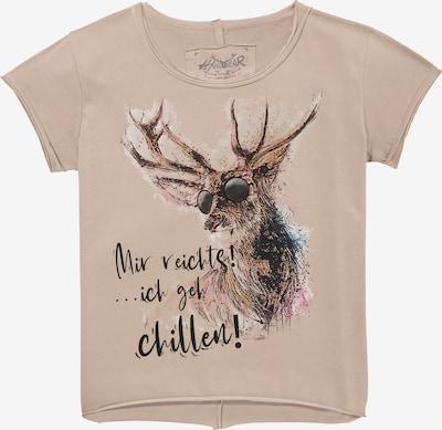 HANGOWEAR Shirt in beige / mischfarben, Produktansicht