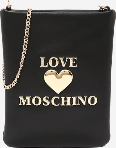 Love Moschino Smartphonehülle in gold / schwarz, Produktansicht