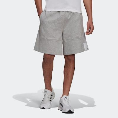 ADIDAS PERFORMANCE Športové nohavice - sivá melírovaná / biela, Model/-ka