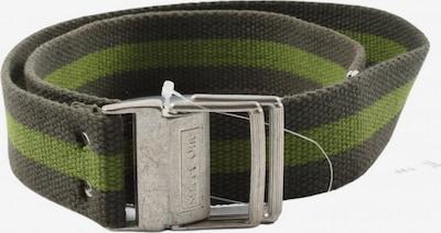 STREET ONE Canvasgürtel in XS-XL in grün / schwarz, Produktansicht