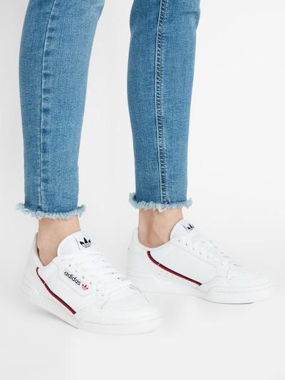 ADIDAS ORIGINALS Sneaker 'Continental 80' in navy / rot / weiß: Frontalansicht