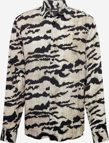 Just Cavalli Button Up Shirt in Grey