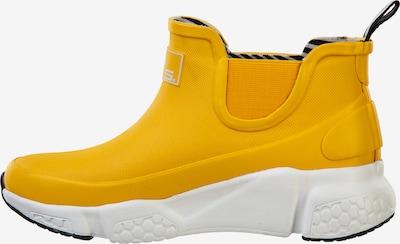 Mols Gummistiefel 'HAUGLAND' in gelb / weiß, Produktansicht