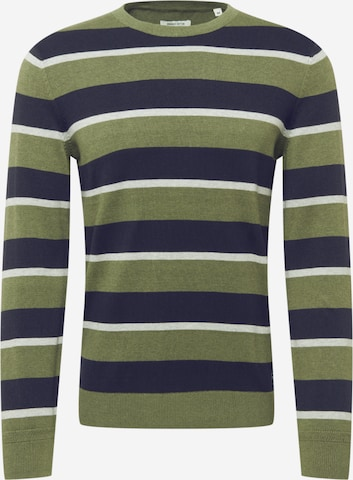 TOM TAILOR Sweater in Green