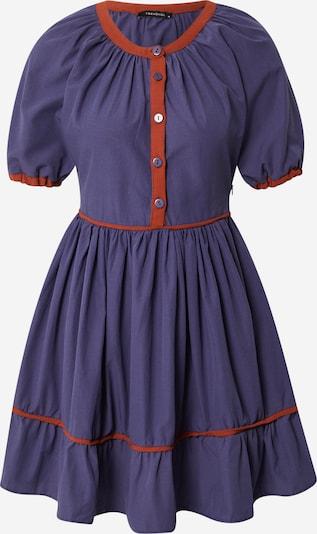 Trendyol Šaty - indigo / krvavo červená, Produkt