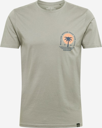 SHINE ORIGINAL T-Shirt en marine / roseau / saumon, Vue avec produit