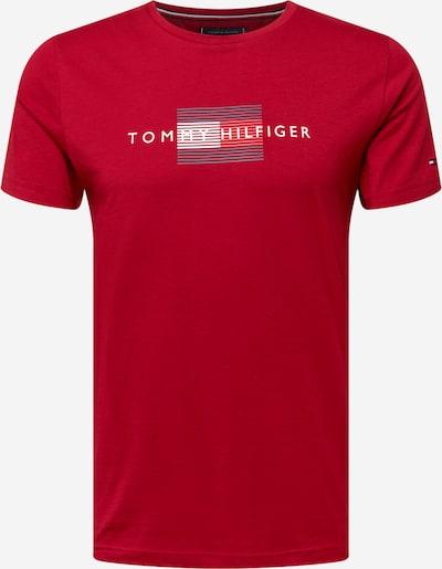 TOMMY HILFIGER Majica u tamno plava / crvena / bijela, Pregled proizvoda
