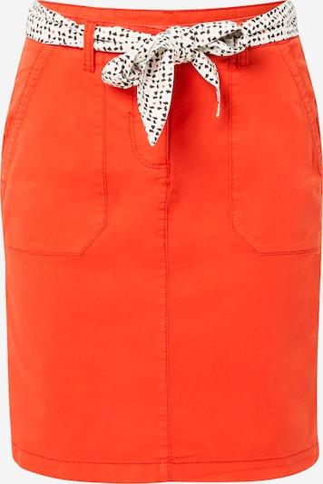 TOM TAILOR Jupe en orange, Vue avec produit