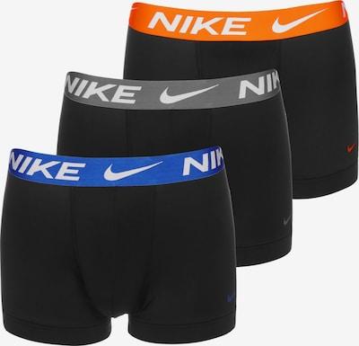 NIKE Sous-vêtements de sport en bleu / gris / orange / noir / blanc, Vue avec produit