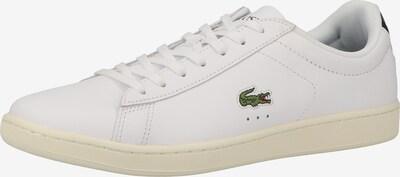 LACOSTE Sneaker in schwarz / weiß, Produktansicht